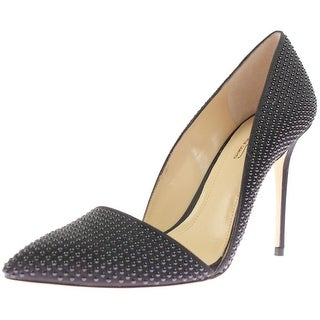 Vince Camuto Womens Ossie Studded Pointed Toe Pumps