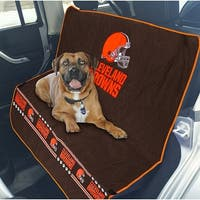 Pets First NFL Cleveland Browns Pet Car Seat Cover