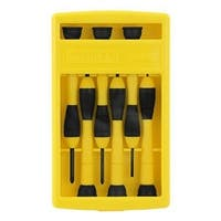 Stanley 66-052 Precision Screwdriver Set, 6 Piece