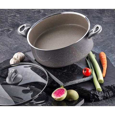 Eveliyn Non-Stick Stainless Steel Soup Pot with Lid