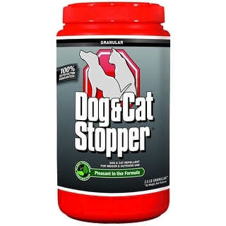 Messina Wildlife WW-G-001 Dog & Cat Stopper Pest Repellant Shaker Jug, 2.5 Lb