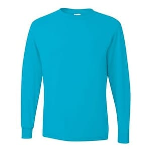 ab73b7b5f07 Shop Dri-Power Active Long Sleeve 50 50 T-Shirt - California Blue - 2XL - Free  Shipping On Orders Over  45 - Overstock - 16195181