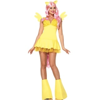 Leg Avenue Fluttershy Adult Costume - Yellow