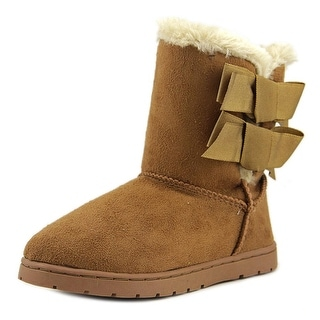 Rampage Beatrix Youth Round Toe Synthetic Tan Winter Boot
