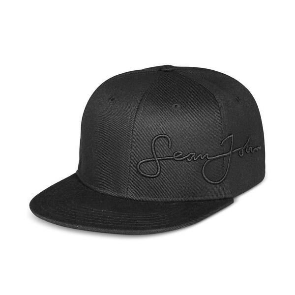 Shop Sean John Core Script Snapback Baseball Cap Hat  28 - Free Shipping On  Orders Over  45 - Overstock.com - 26922154 6950b577764
