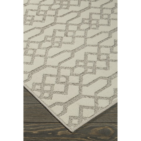 Coulee Natural Patterned Rug - 8' x 10'