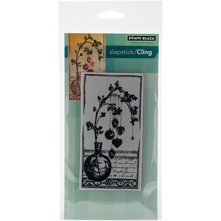 """Penny Black Cling Stamp 5""""X7""""-Adorned W/Love"""