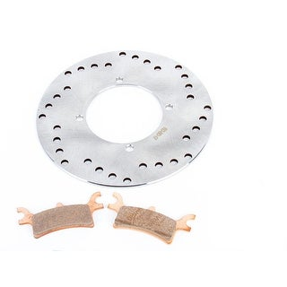 2003 2004 2005 Polaris 330 Magnum 2X4 Rear Brake Rotor Disc and Brake Pad