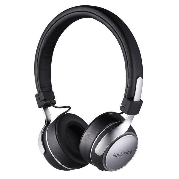 Shop Sunliking Bluetooth Headphones With Mic Portable Wireless Headphones With Hide Fidelity Cd Like Audio Overstock 28026353