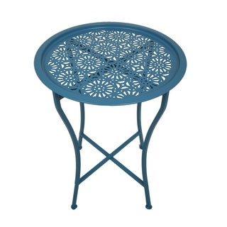 Darliving Daisy Stackable Metal Stool Set Of 2 Free