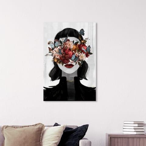 Wynwood Studio 'Dutch Love' Fashion and Glam Wall Art Canvas Print Portraits - Black, Gray