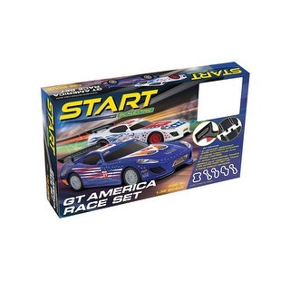 Link to Scalextric START GT America  1:32 Slot Car Race Track Set C1411T Similar Items in Toy Vehicles