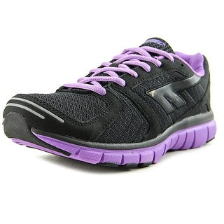 Hi-Tec Haraka Women Round Toe Synthetic Black Tennis Shoe