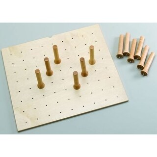 Rev-A-Shelf 4DPS-2421 4DPS Series Small Trimmable Drawer Peg Board with 9 Pegs