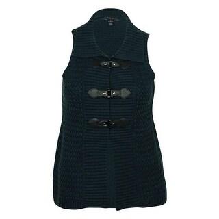 Style & Co Women's Knit Sweater Vest - pm