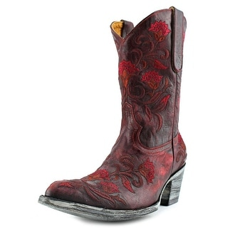 "Old Gringo Naomi 10"" Round Toe Leather Western Boot"