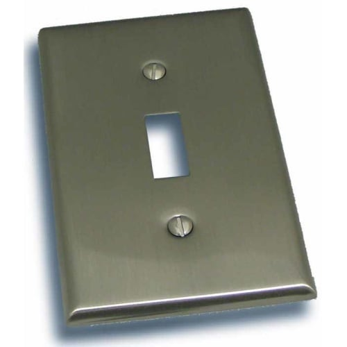 """Residential Essentials 10813 4.5"""" X 2.75"""" Single Toggle Switch Plate Featuring a Rustic / Country Theme"""