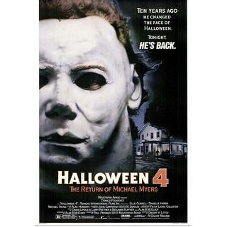 """Halloween 4 The Return of Michael Myers (1988)"" Poster Print"