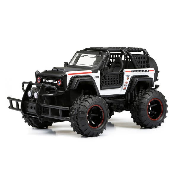 Shop Black Friday Deals On 1 24 Scale Rc Ff Ford Bronco White Overstock 21540215