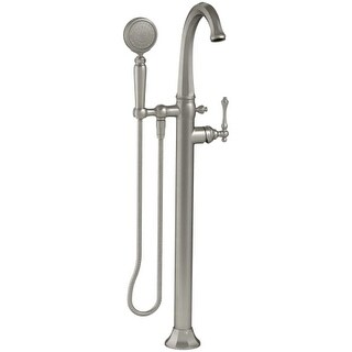 Kohler K-T97332-4 Kelston Floor Mounted Roman Tub Faucet with Hand Shower and MasterClean Technology - Less Mounting Block