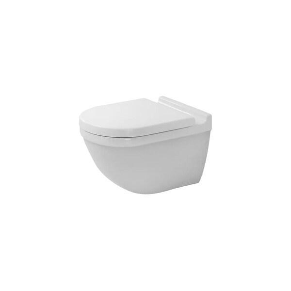 Duravit 2527090092 Rimless 1.6/0.8 GPF One Piece Round Toilet - White