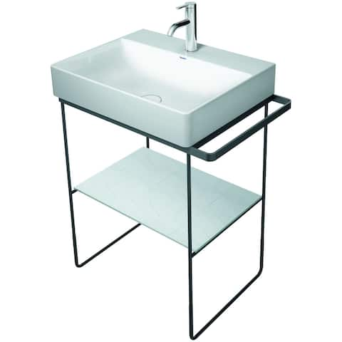 Duravit 003101 DuraSquare Lavatory Console Legs - Sink Not Included