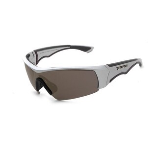 Peppers Polarized Sunglasses Mako Matte Grey Brown Polarized Lens