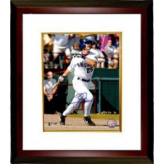 Rafael Palmeiro signed Texas Rangers 8x10 Photo Custom Framed (swinging)