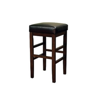 "American Heritage Billiards Empire Extra Tall Stool Empire 34"" Tall Wood Frame Extra Tall Bar Stool"