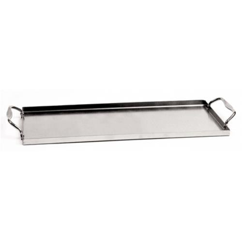 Charcoal Companion CC6037 Stainless Steel Plank Saver With Side Handles