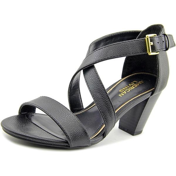 American Living London Women Black Sandals