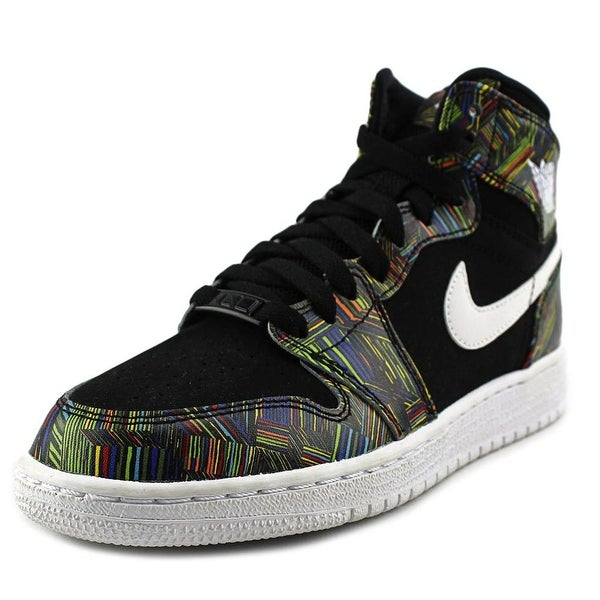 Shop Jordan Air Jordan 1 High Bhm Gg Youth Round Toe