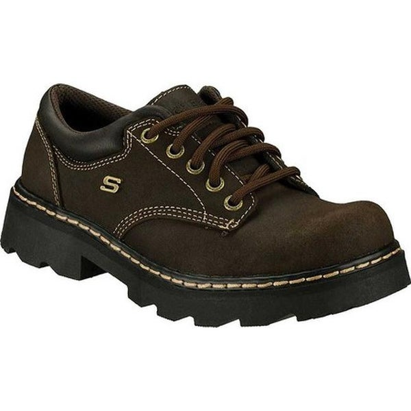18027553b53d ... Women s Shoes     Women s Oxfords. Skechers Women  x27 s Parties Mate  Chocolate Scuff Resistant Leather