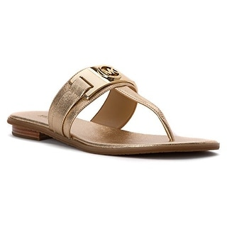 MICHAEL Michael Kors Womens Warren Thong Split Toe Casual Slide Sandals