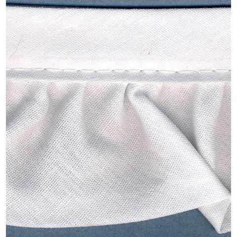 """Ruffled Quilt Binding 2""""X15yd-White - White"""