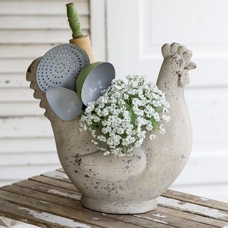 Large Hen Planter