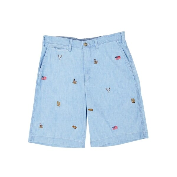 Shorts Polo Fit Men's Relaxed Chambray Ralph Lauren nwZ0ONPk8X