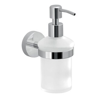 Nameeks 2381 Gedy Collection Wall Mounted Soap Dispenser - Polished Chrome