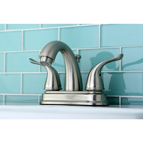 Yosemite Two-Handle 3-Hole Deck Mount 4 in. Centerset Bathroom Faucet