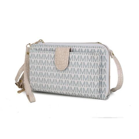 MKF Collection Olga Smartphone and Wallet Convertible Crossbody Bag by Mia K