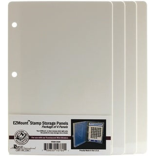 "EZMount Stamp Storage Panels 4/Pkg-5.75""X8.5""|https://ak1.ostkcdn.com/images/products/is/images/direct/b814f2ecd4cbeb0a3129becdb2963c5dac4f1343/EZMount-Stamp-Storage-Panels-4-Pkg-5.75%22X8.5%22.jpg?_ostk_perf_=percv&impolicy=medium"