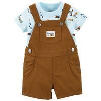 Carter's Baby Boys' 2-Piece Tee & Shortalls Set