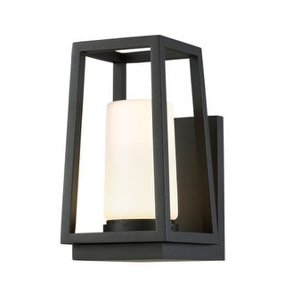 """WAC Lighting WS-W38710 Hurricane Single Light 10"""" High Integrated LED Outdoor Wall Sconce"""