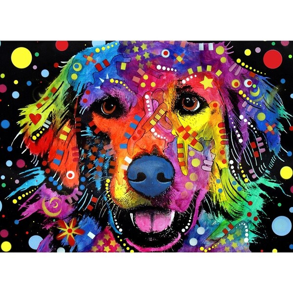 405a35f0b3 Shop Love is Golden Puzzle - 1000 Piece Golden Retriever Dog Jigsaw Puzzle  - MultiColor - Free Shipping On Orders Over $45 - Overstock - 18108261