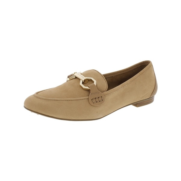 Louise Et Cie Womens Faunia Loafers Embellished Round Toe