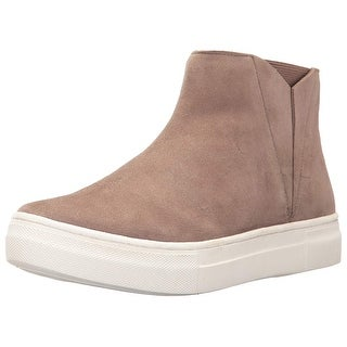 Seychelles Womens IB00969 Leather Hight Top Pull On Fashion Sneakers