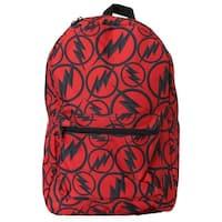 The Flash Dark Logo All Over Print Backpack
