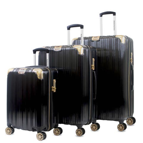 AGT Melrose S 3-Piece Anti-theft TSA Spinner Luggage Set
