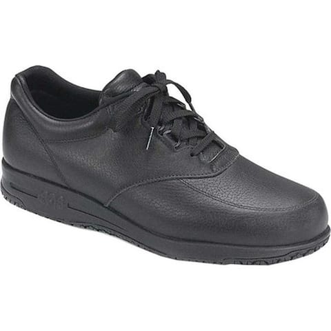 SAS Men's Guardian Oxford Black Leather