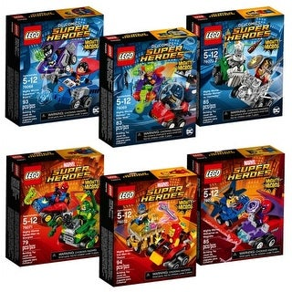 LEGO(R) Mighty Micros DC & Marvel Set